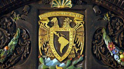 Escudo y lema de la UNAM