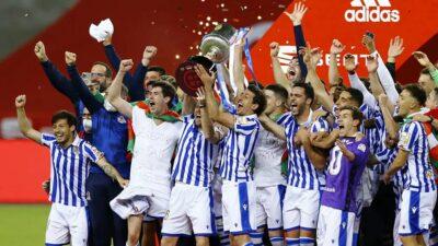 Real Sociedad se corona en la Copa del Rey