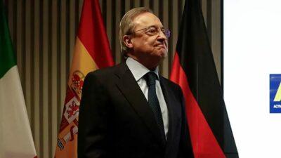 Florentino Pérez declara todo sobre la Superliga Europea