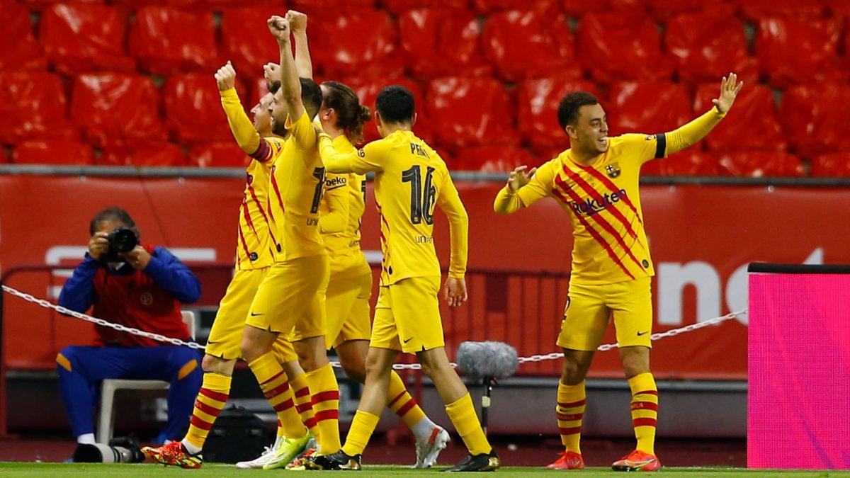 Barcelona se corona en la Copa del Rey 2021.