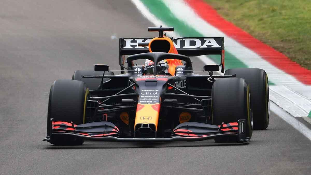 Max Verstappen, ganador del GP Emilia Romagna