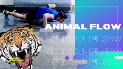 Movimientos de animales; cuatro entrenamientos para ejercitarte