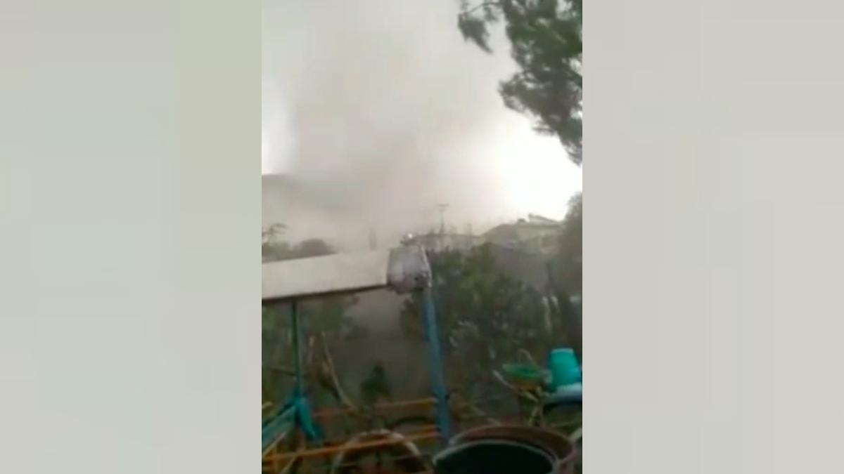 Puebla: Mini tornado y granizada afectan casas en Tecamachalco y Acatzingo