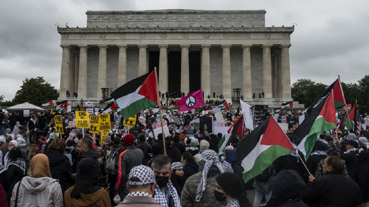 Palestinos en Washington