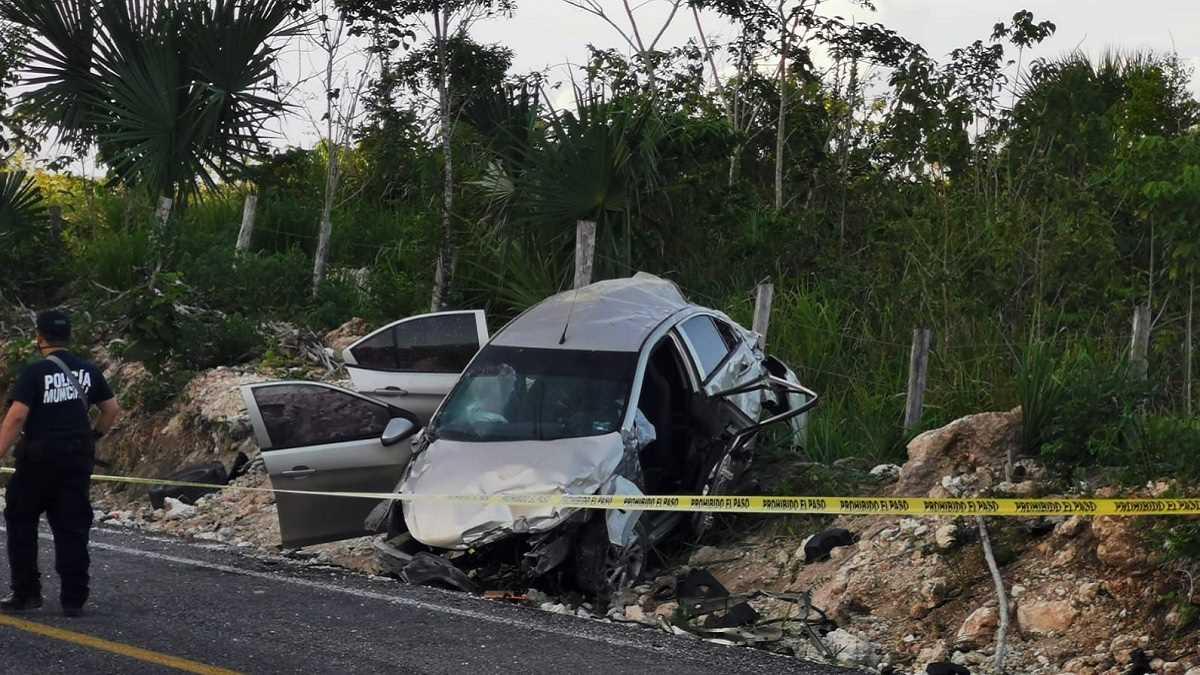 Accidente candidato Quintana Roo