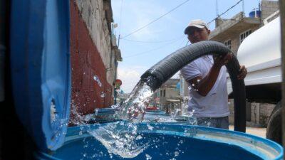 Sheinbaum pide cuidar el agua ante disminución en Valle de México