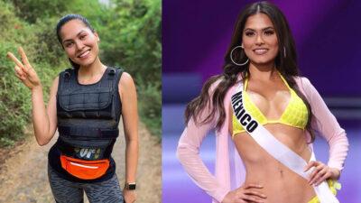 Así luce Andrea Meza, Miss Universo 2021, sin una gota de maquillaje