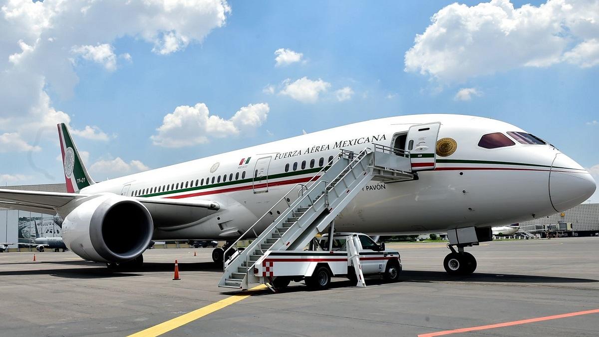 Avión presidencial regresa a EU para mantenimiento: Arturo Herrera