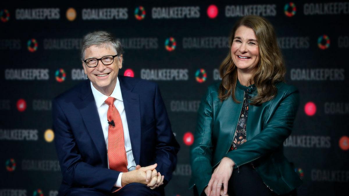 Bill Gates y su esposa Melinda anuncian divorcio