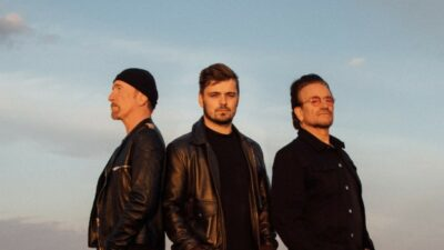 Bono The Edge Martin Garrix Eurocopa