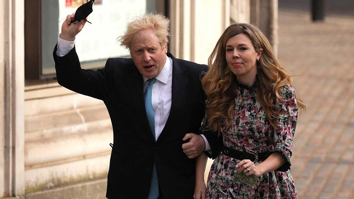 Boris Johnson es el segundo primer ministro británico que se casa durante su mandato