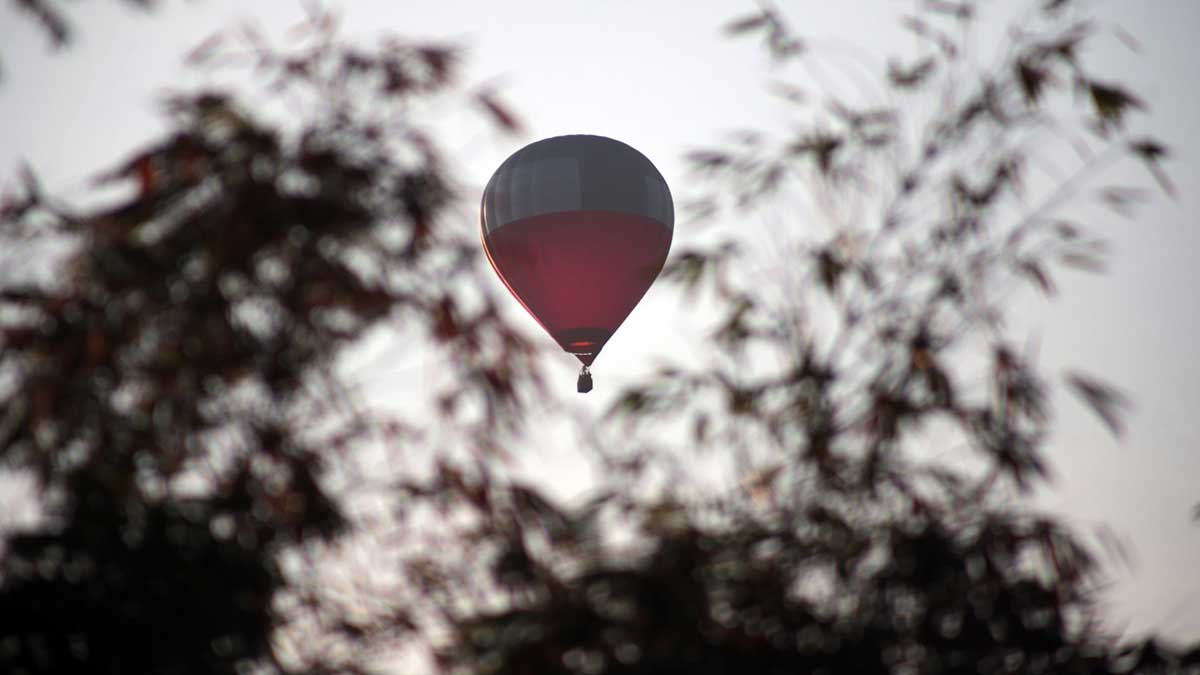 En Coahuila viralizan caída de globo aerostático; no hay lesionados