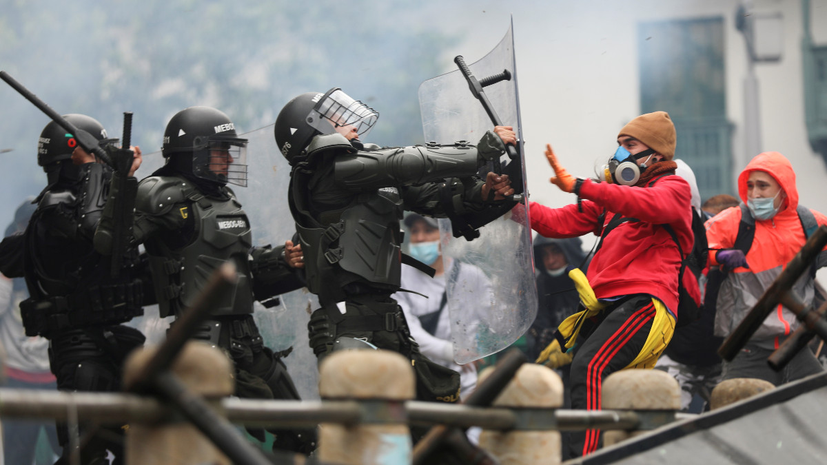 Colombia: octavo día de protestas contra el Gobierno