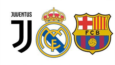 UEFA abre expediente sancionador contra Real Madrid, Barcelona y Juventus