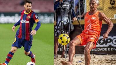 Messi supera a Romario