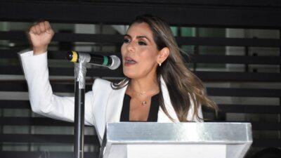 Candidatura de Evelyn Salgado