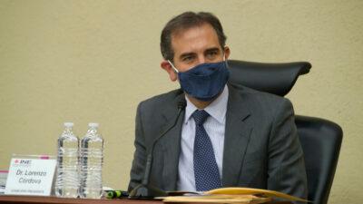 Lorenzo Córdova, consejero presidente del INE, advierte que cumplirá su periodo