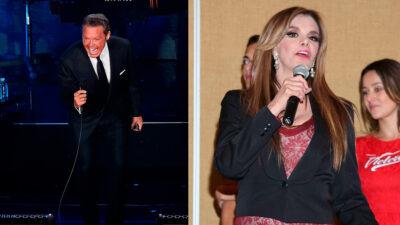 """Luis Miguel le dedicó """"Fría como el viento"""" a Lucía Méndez, aseguran"""