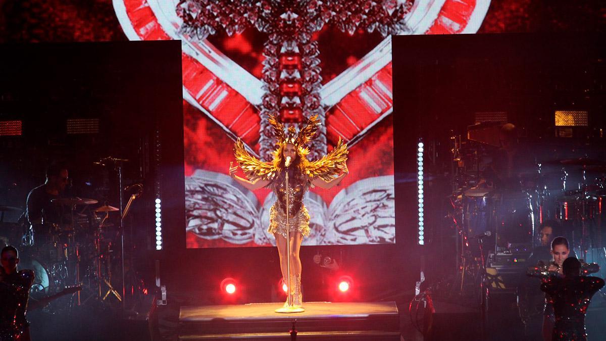 Thalía sorprendió a Tommy Mottola con baile en plena calle