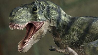 En España, hombre muere atrapado dentro de una réplica de dinosaurio