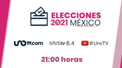 Elecciones 2021 UnoTV