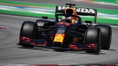 Checo Pérez saldrá en la octava posición en el GP de España