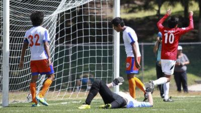 Futbolistas de Veracruz y CDMX protagonizan batalla campal
