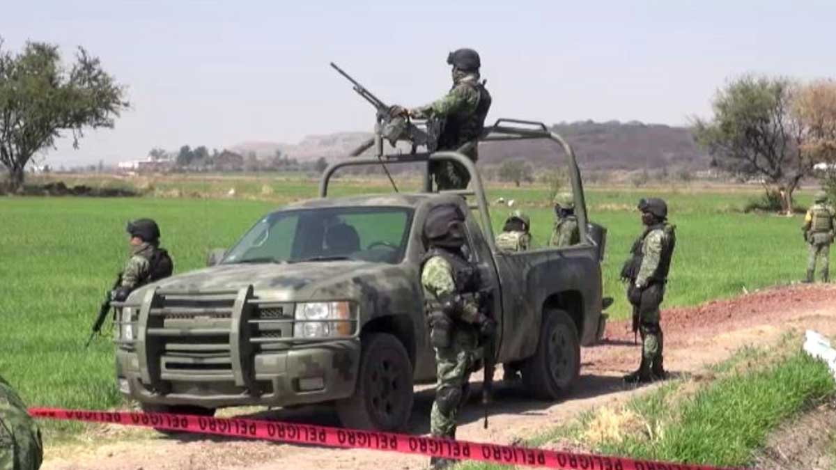 Guanajuato: Llegan a León mil 100 militares ante ola de homicidios