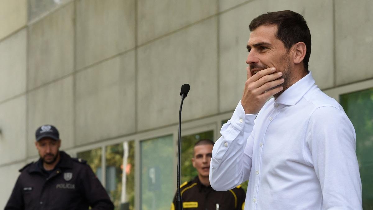 Iker Casillas regresó a urgencias tras un nuevo susto del corazón
