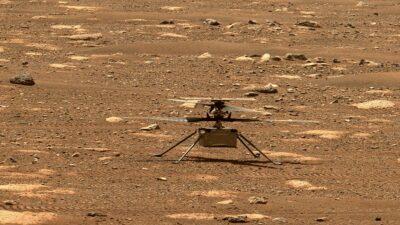 El Perseverance capta el sonido del vuelo del Ingenuity en Marte