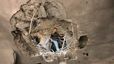 Desde el 3 de mayo, se han registrado los peores enfrentamientos de Israel en años. Foto: AFP