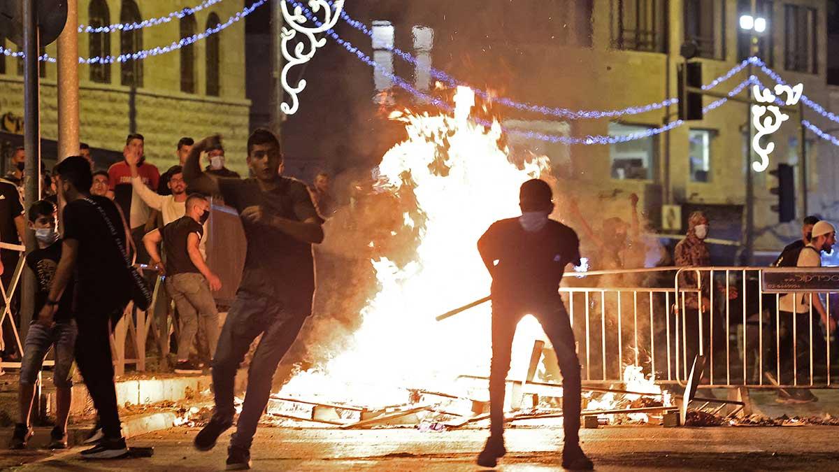 En Jerusalén hubo enfrentamientos que dejaron cientos de heridos