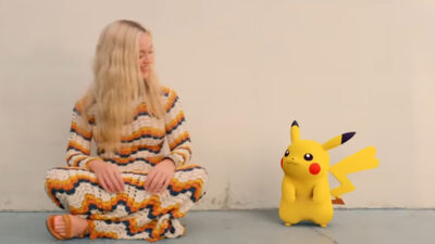 "Katy Perry presenta ""Electric"", acompañada por Pikachu"
