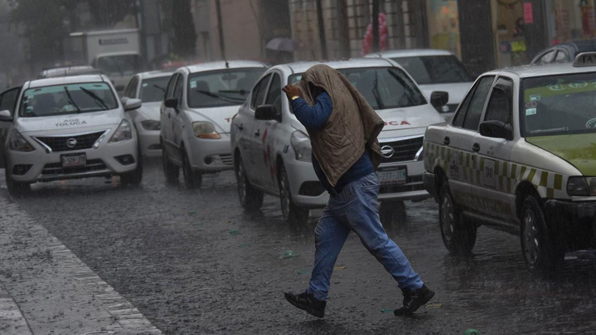 ¡Tómalo en cuenta! Se registra caída de lluvia en diferentes alcaldías de CDMX