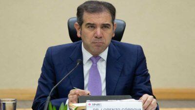 INE hace llamado a candidatos y partidos a evitar proclamaciones de triunfo anticipadas