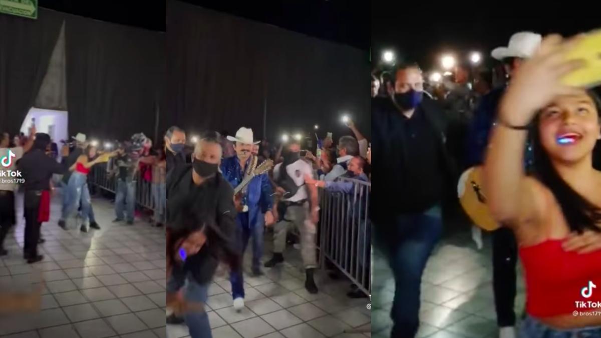 Los Dos Carnales: critican a dueto por video donde guardia empuja a fan