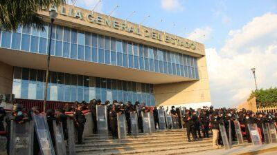 Normalistas de Mactumatza son trasladados a penales de Chiapas