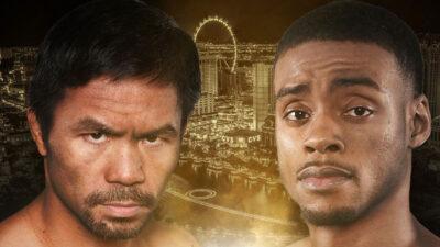 Manny Pacquiao sale del retiro y anuncia pelea con Errol Spence
