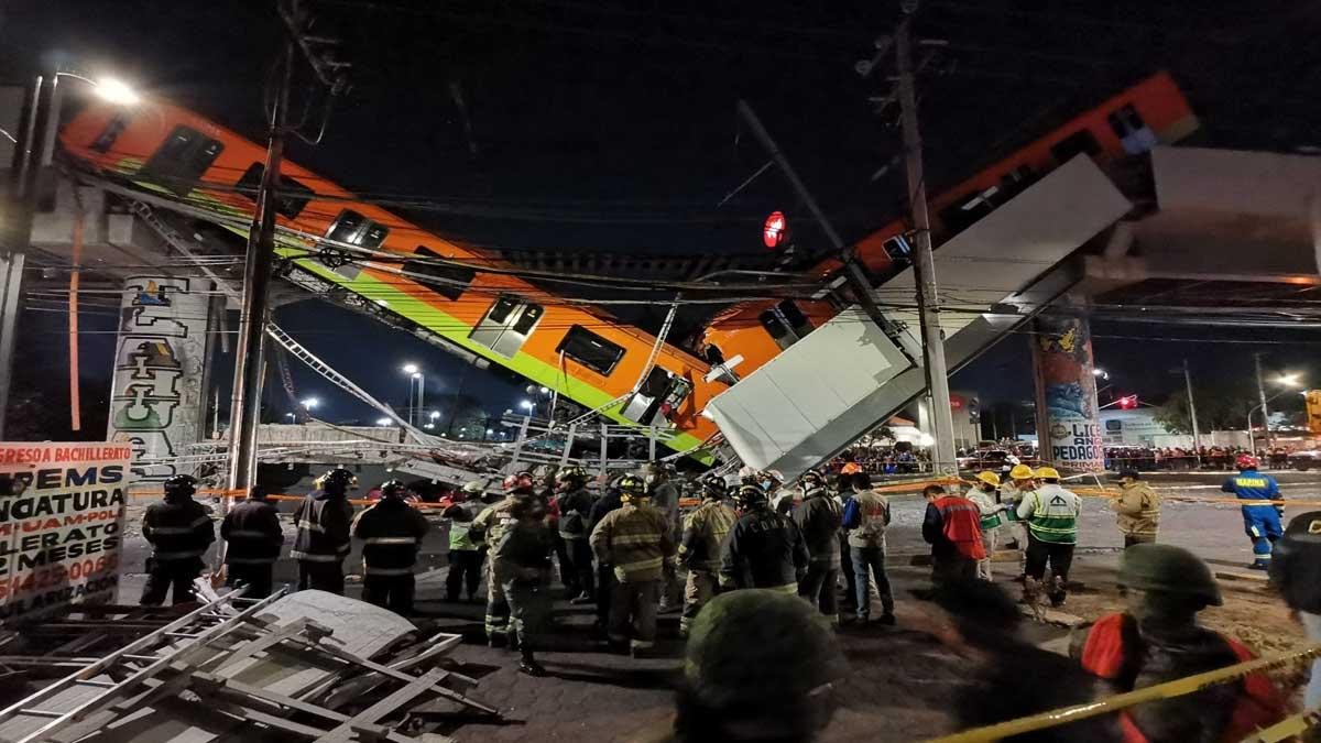 Metro CDMX: Tragedia en Línea 12 en IMÁGENES; hay al menos 23 muertos