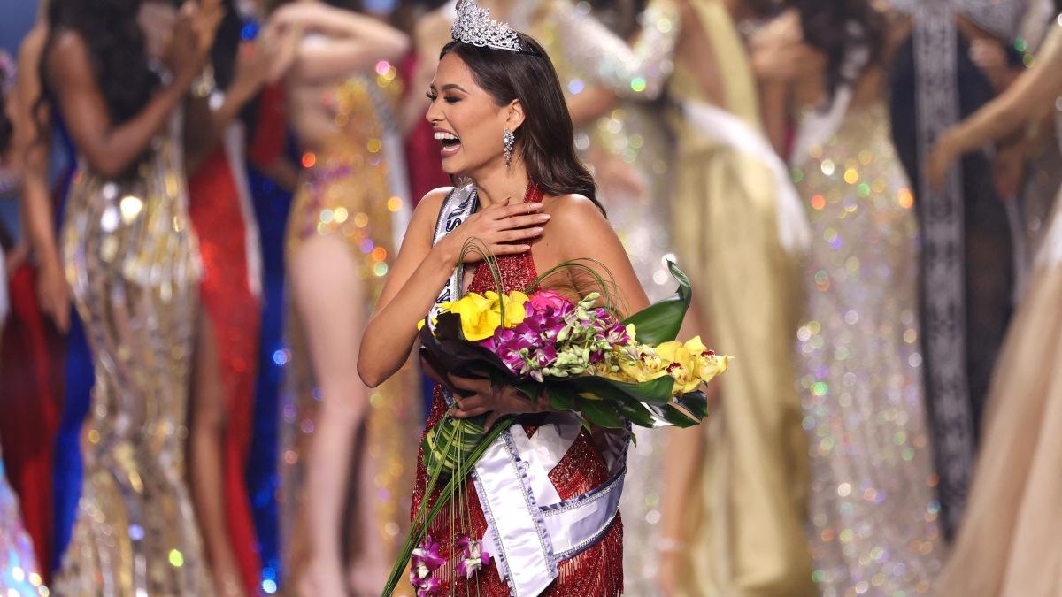 Andrea Meza se llevo la corona en miss universo 2021