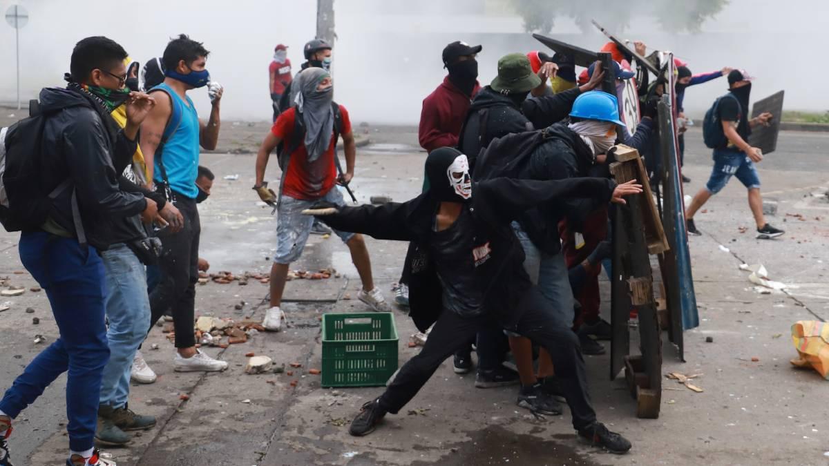 Colombia manifestaciones