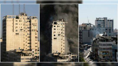 Bombardeo Gaza reportera