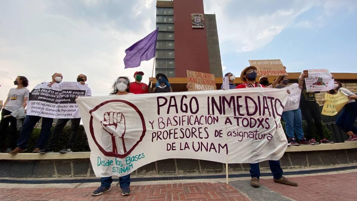 UNAM pagos
