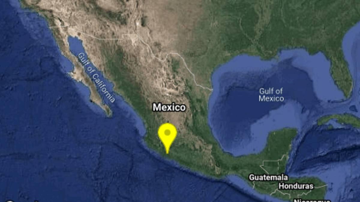 Sismo en Michoacán