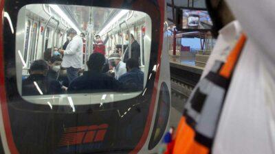 Metro de Monterrey, Nuevo León: se descarrila un vagón
