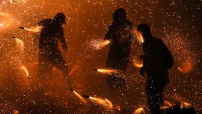 En Tlacotalpan, Veracruz, explota pirotecnia durante mitin político