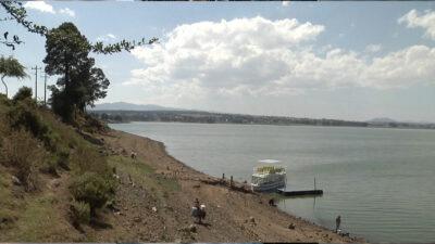 Estado de México: presa Villa Victoria se seca