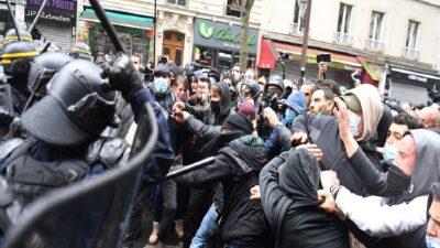 Consignas y violencia: así fueron protestas por 1 de mayo en el mundo
