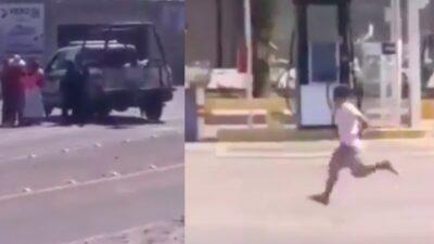 Querétaro: Hombre esposado escapa de policías en Amealco