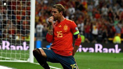 Sergio Ramos Eurocopa Espana